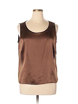 Eileen Fisher Sleeveless Silk Top Size 1X (Plus)