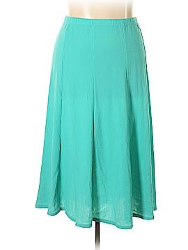 Susan Graver Casual Skirt Size 2X (Plus)