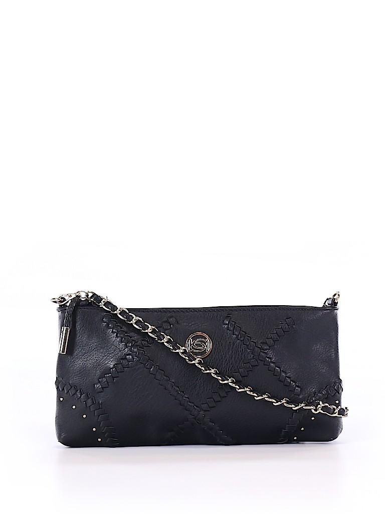 ff61d68a83 Bebe 100% Polyurethane Solid Black Crossbody Bag One Size - 78% off ...