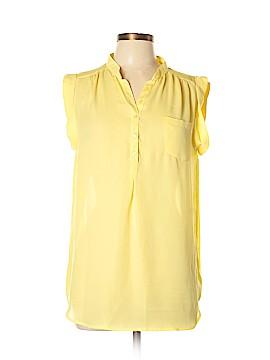 Sandro Short Sleeve Blouse Size L