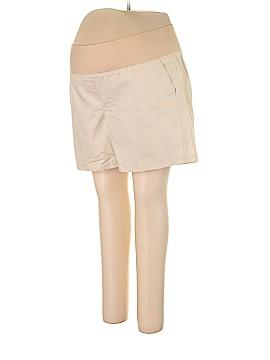 Ann Taylor LOFT Maternity Khaki Shorts Size 18 (Maternity)