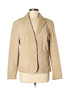 Casual Corner Annex Leather Jacket Size M