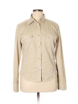 Weekend Max Mara Long Sleeve Button-Down Shirt Size XL