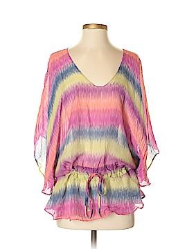 Vix by Paula Hermanny Short Sleeve Silk Top Size S