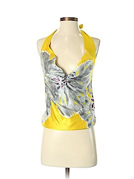 ADAM by Adam Lippes Short Sleeve Silk Top Size 0