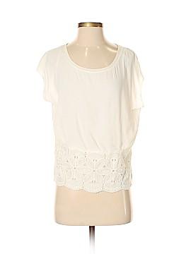 Maison Jules Short Sleeve Blouse Size S