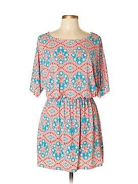 The ZigZag Stripe Casual Dress Size L