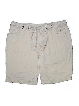 Route 66 Khaki Shorts Size 26 (Plus)