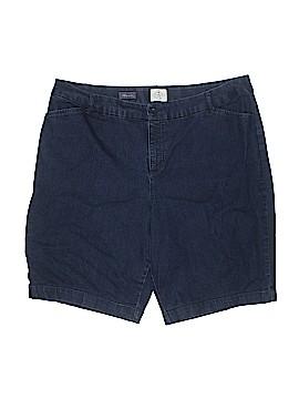 St. John's Bay Denim Shorts Size 20w (Plus)