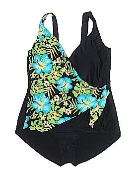 Shore Shapes One Piece Swimsuit Size 24 (Plus)
