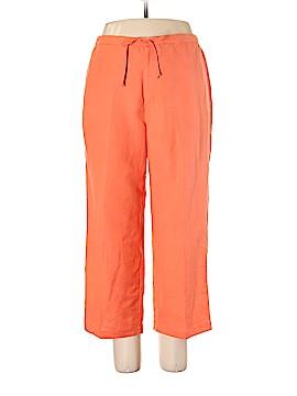 Sigrid Olsen Linen Pants Size XL