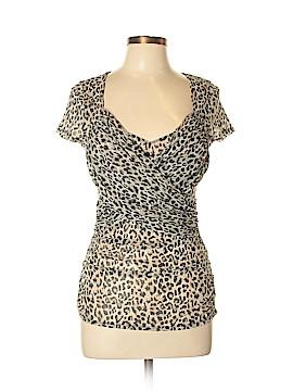 Moda International Short Sleeve Blouse Size L