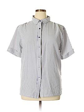 BocaBay Short Sleeve Blouse Size XL