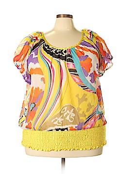 Erica Brooke Short Sleeve Blouse Size 26 (Plus)
