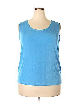Slinky Brand Sleeveless Top Size 1X (Plus)