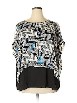 Alfani Short Sleeve Button-Down Shirt Size 16