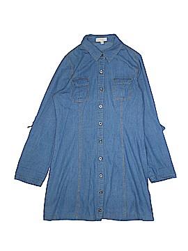 BLVD Long Sleeve Button-Down Shirt Size S