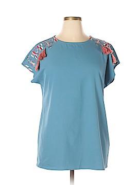 Darling Short Sleeve Blouse Size XXL