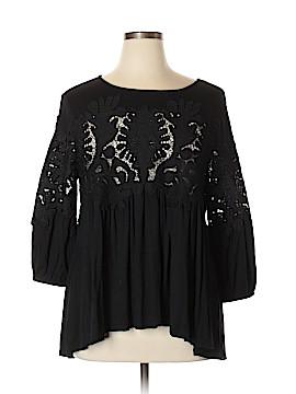 Deletta 3/4 Sleeve Blouse Size XL