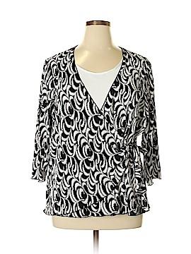 TanJay 3/4 Sleeve Top Size 3X (Plus)
