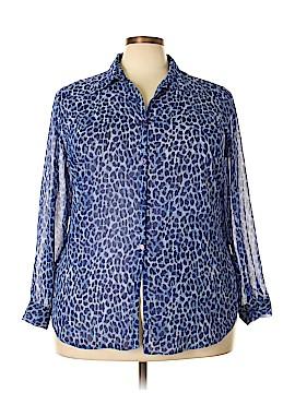 Venezia Long Sleeve Blouse Size 18 - 20 Plus (Plus)