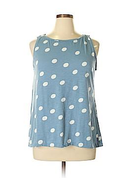 Ann Taylor LOFT Sleeveless T-Shirt Size L