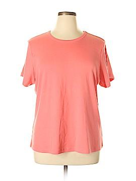 Allison Brittney Short Sleeve T-Shirt Size 2X (Plus)