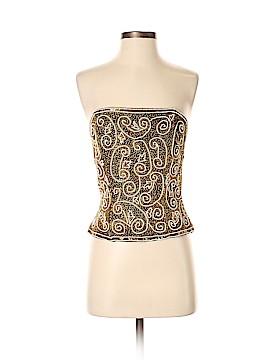 Adrianna Papell Sleeveless Silk Top Size S