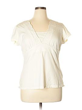 G.H. Bass & Co. Short Sleeve Top Size XL