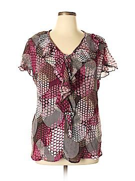 DressBarn Short Sleeve Blouse Size 18 - 20 (Plus)