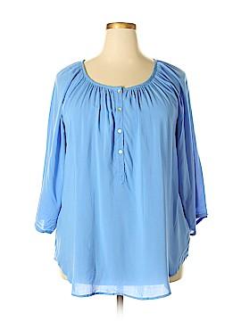 Intro 3/4 Sleeve Blouse Size 1X (Plus)