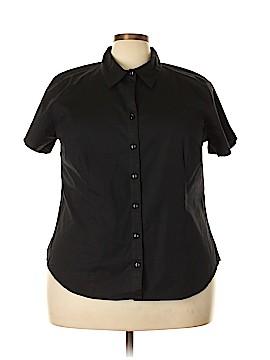 Venezia Short Sleeve Button-Down Shirt Size 22 - 24 Plus (Plus)
