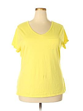 Hanes Short Sleeve T-Shirt Size 2X (Plus)