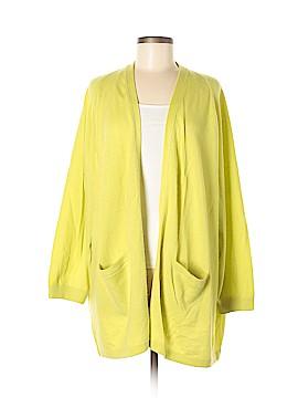 Shamask Cashmere Cardigan Size Lg (2)