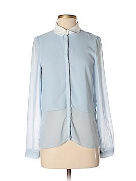 Trafaluc by Zara Long Sleeve Blouse Size XS