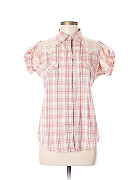 Wrangler Jeans Co Short Sleeve Button-Down Shirt Size M