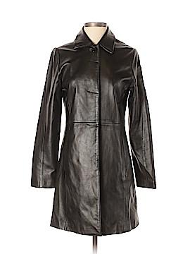 Donna Karan Signature Leather Jacket Size 2