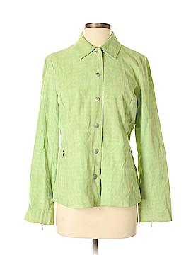 Liz Claiborne Golf Leather Jacket Size M