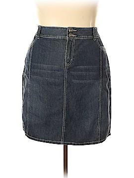 Baccini Denim Skirt Size 20 (Plus)