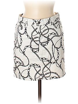 Cache Denim Skirt Size 4