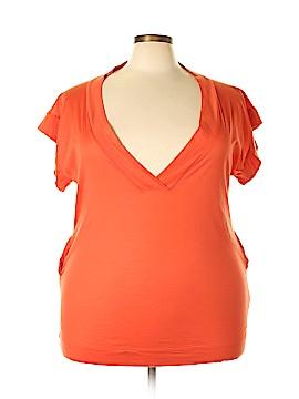 Eres Short Sleeve Blouse Size Sm - Med