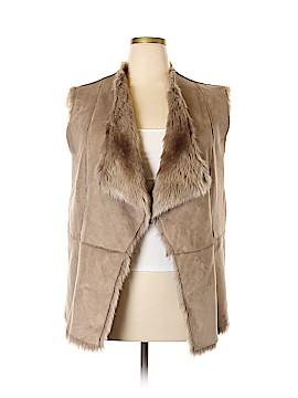Kristen Blake Faux Fur Jacket Size 1X (Plus)