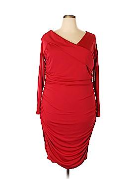 Melissa Masse Casual Dress Size 3X (Plus)