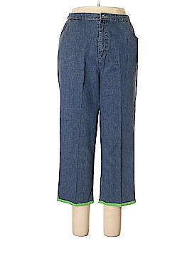 Quacker Factory Jeans Size L