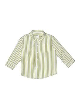 Tea Long Sleeve Button-Down Shirt Size 4T
