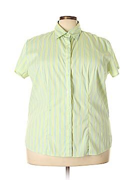 DCC Short Sleeve Blouse Size 2X (Plus)