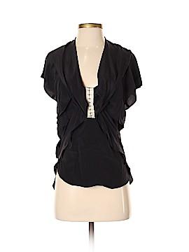 Pencey Short Sleeve Silk Top Size 2