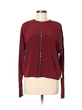 Dorothee Schumacher Long Sleeve Silk Top Size 3