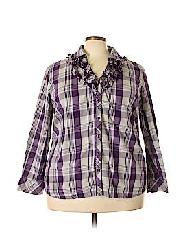 Covington Long Sleeve Blouse Size 20 - 22 (Plus)