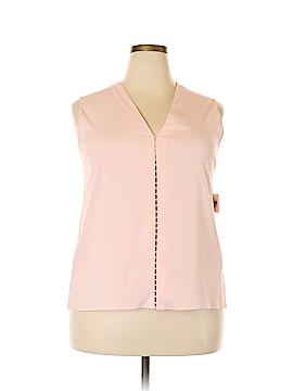 Tahari Sleeveless Blouse Size XL